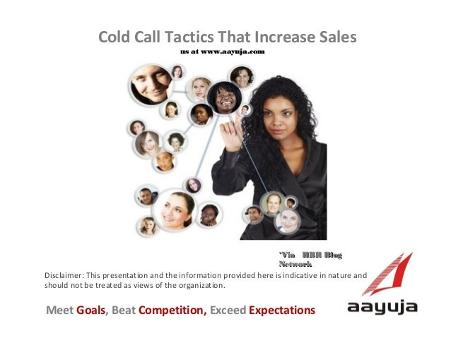 Cold Call Tactics That Increase Sales