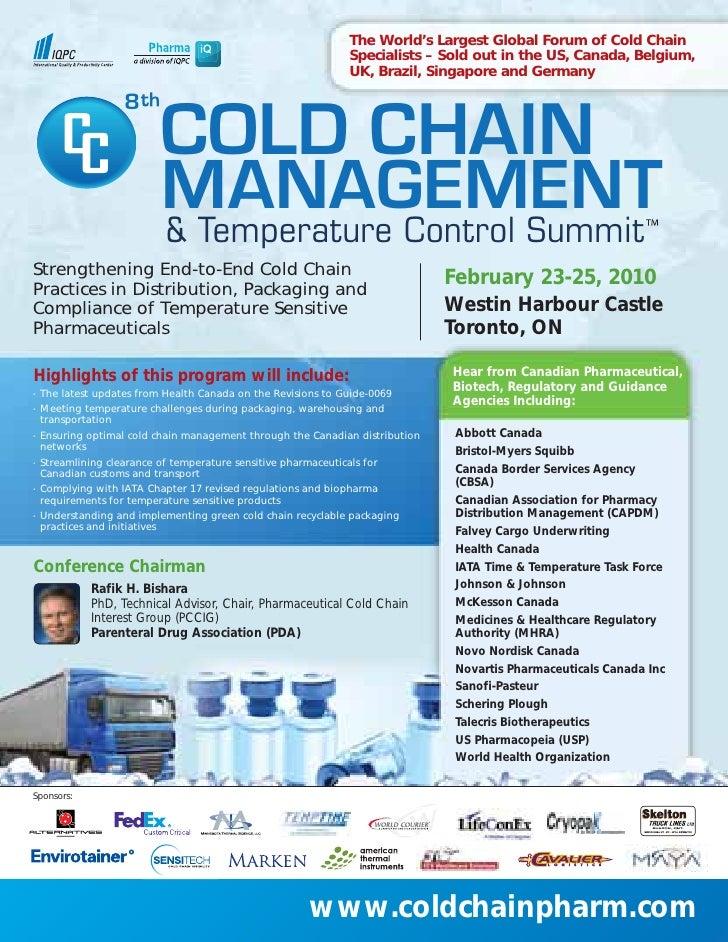 Cold Chain Canada 2010