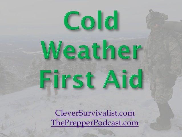 CleverSurvivalist.com ThePrepperPodcast.com