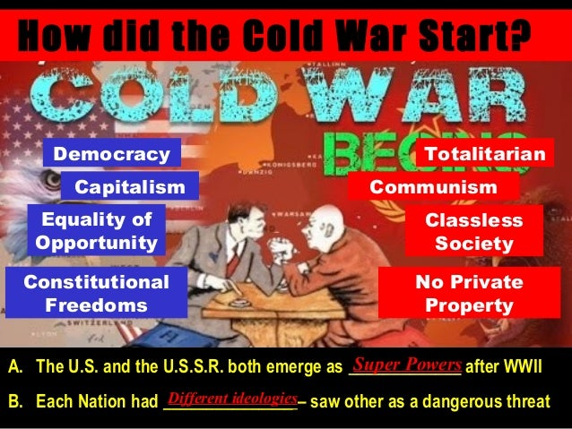 strong ideologies behind the superpowers usa and the soviet union The rise of the superpowers the united states and the soviet union ended the war with make them superpowers with the strong ideologies that they.