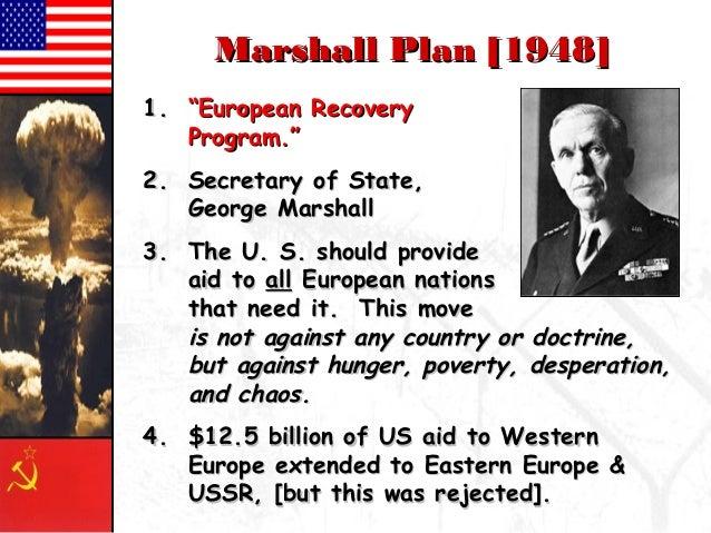 Marshall Plan Essay