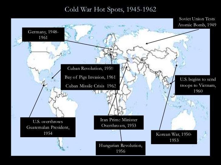 hot spots in the cold war essay Albert kao ms frankie tsui social study 10-1 the cold war into a fearful hot war as world war ii ended, the two giant powers in the world, ussr an.