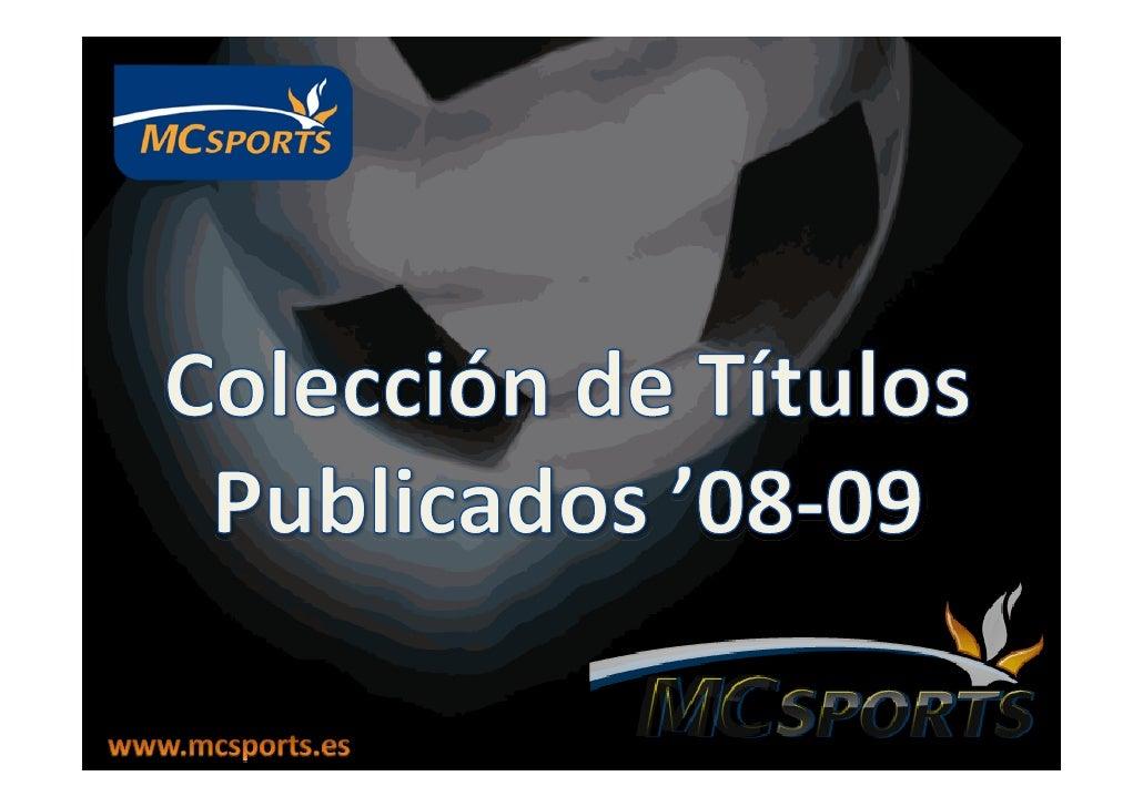 Colecció Mc Sports