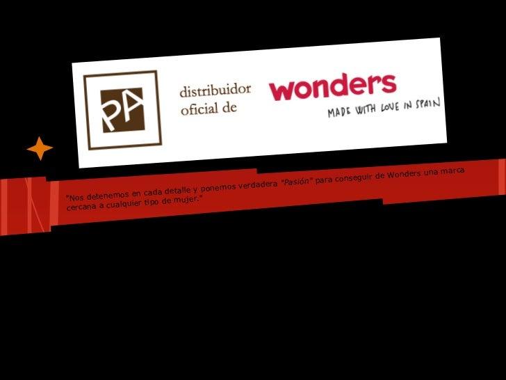 marca                                                                                   Wonders una                       ...