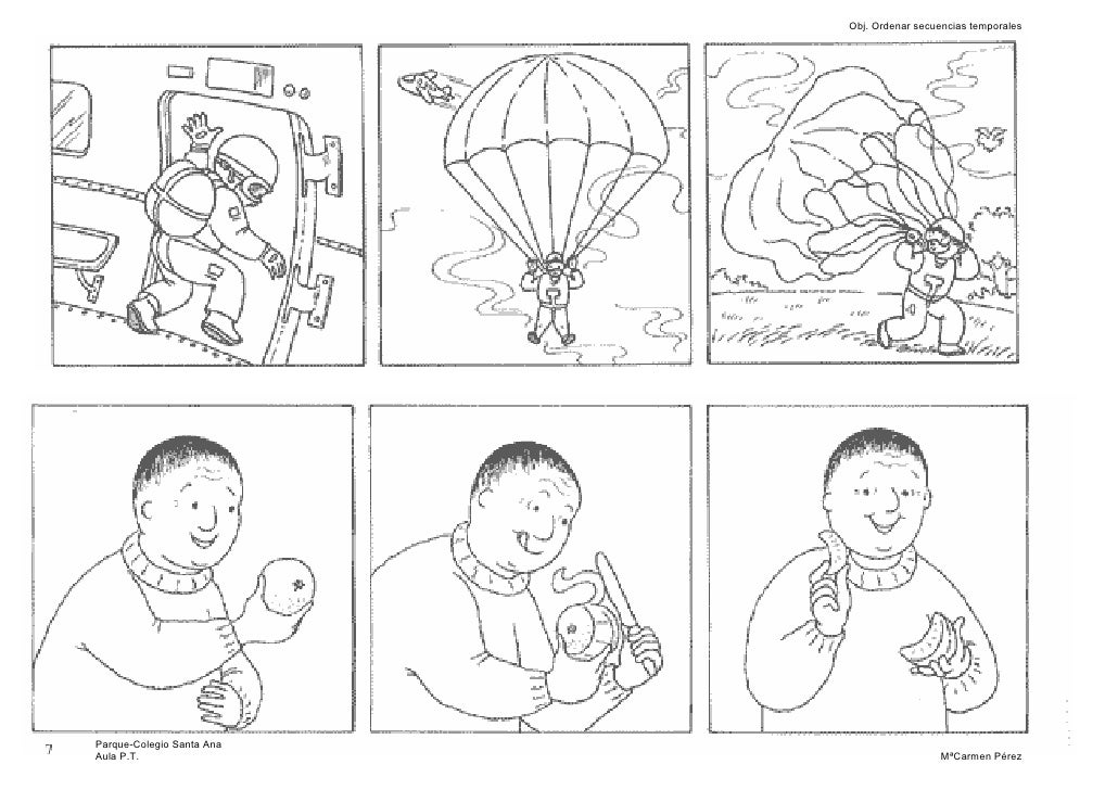 secuencia de historias para ordenar imagui