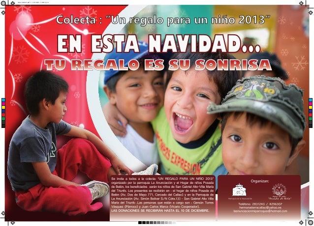 Colecta niño 2013