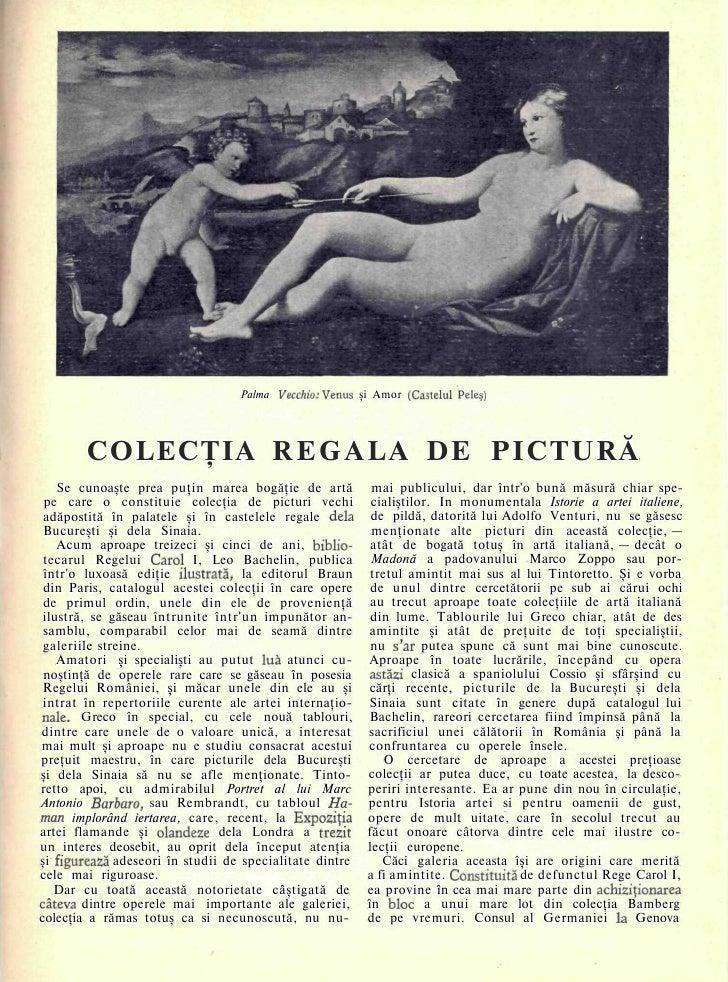 Colectia Regala de Pictura
