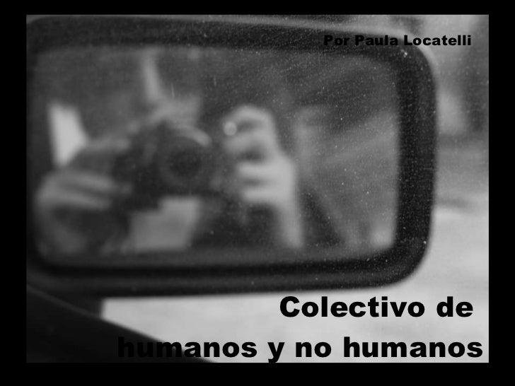 Colectivo de  humanos y no humanos Por Paula Locatelli