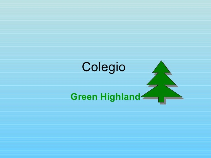 Colegio  Green Highland