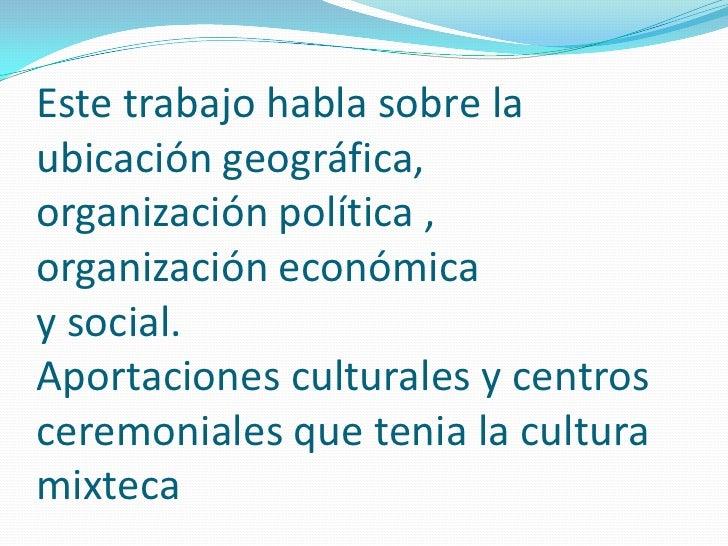 Cultura mixteca for Banco santander mas cercano a mi ubicacion