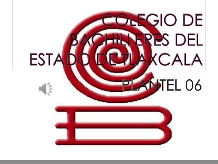 Colegio de bachilleres del estado de tlaxcala