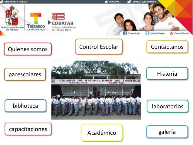 Colegio de bachilleres de tabasco plantel 9