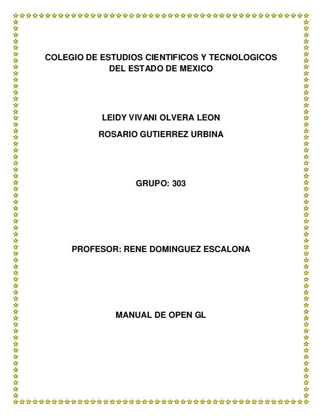 COLEGIO DE ESTUDIOS CIENTIFICOS Y TECNOLOGICOS             DEL ESTADO DE MEXICO           LEIDY VIVANI OLVERA LEON        ...