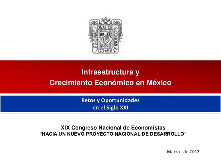 02-03-12 Infraestructura y Crecimiento Económico