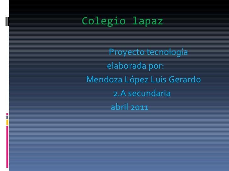 Colegio lapaz