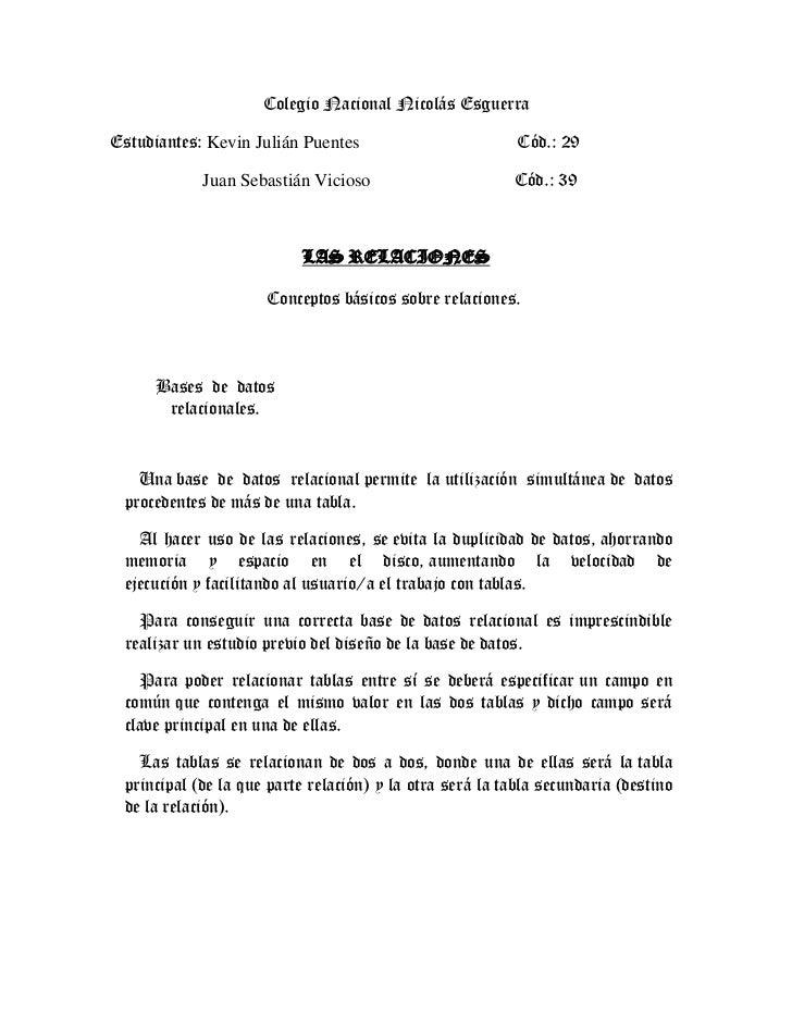 Colegio Nacional Nicolás EsguerraEstudiantes: Kevin Julián Puentes                         Cód.: 29            Juan Sebast...