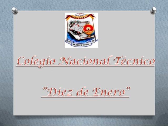 Colegio tecnico