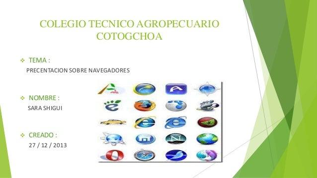 Colegio tecnico agropecuario cotogchoa navegadores
