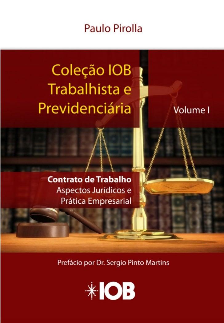 Sumário                                            CAPÍTULO I                        Disposições Gerais sobre o Contrato d...