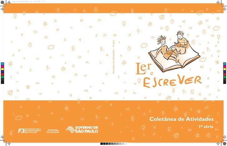 Coletânea de atividades 2° ano