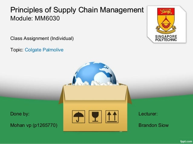 colgate palmolive supply chain Colgate: a closer look at supply chain excellence  thanks mike these are great insights i have written a lot about supply chain talent, and i question if it is the true missing link of the supply chain  i take my job as the leader of the 22,000 global members of the colgate supply chain team seriously.