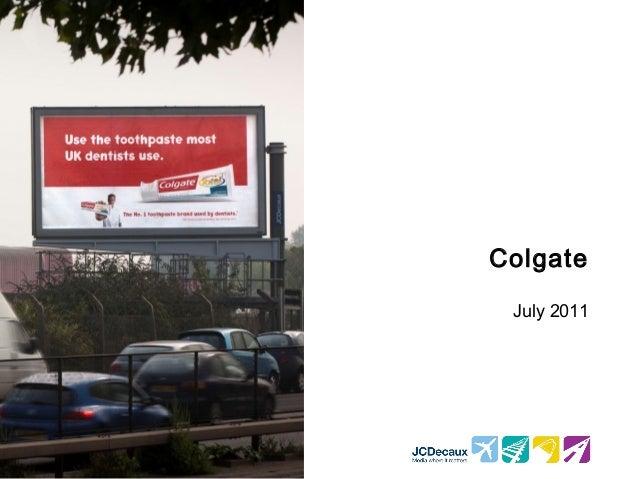 Colgate July 2011
