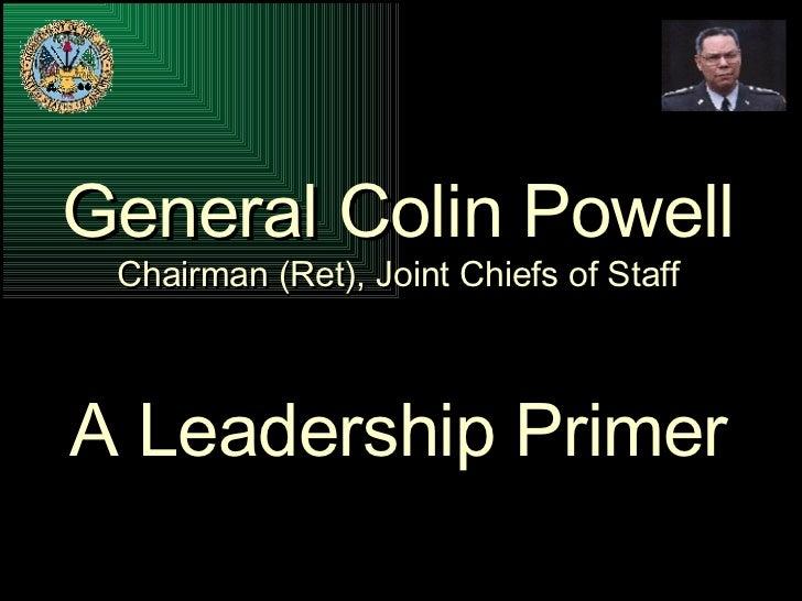 Colin Powell's Leadership Presentation