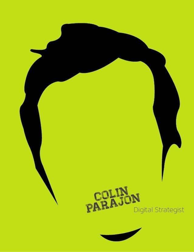 Colin Parajon Portfolio