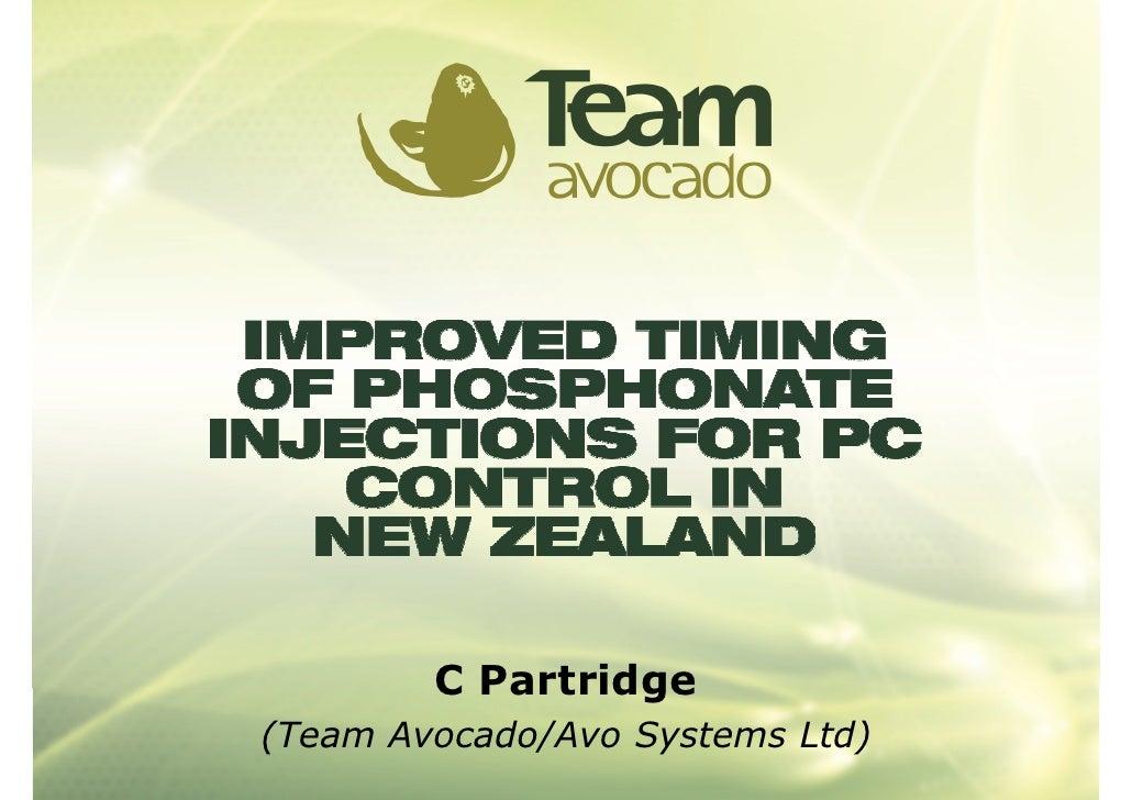 C Partridge (Team Avocado/Avo Systems Ltd)