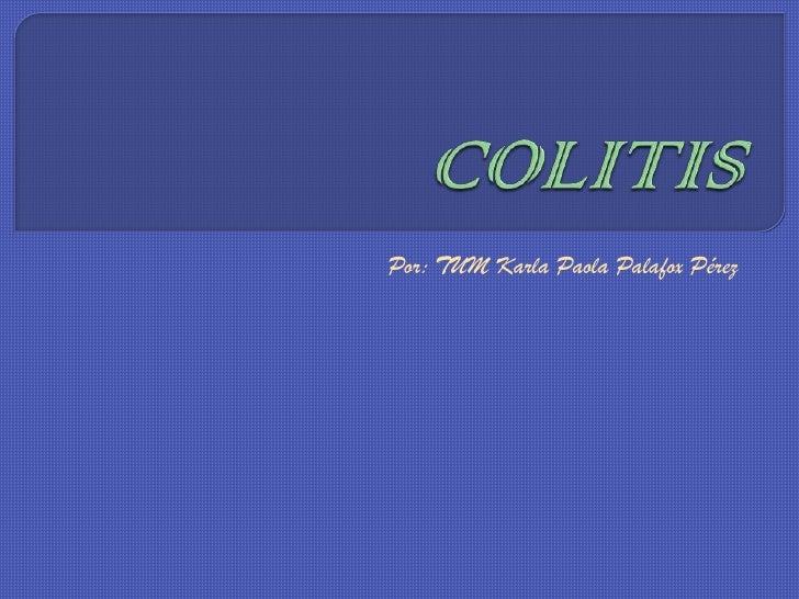 Colitis