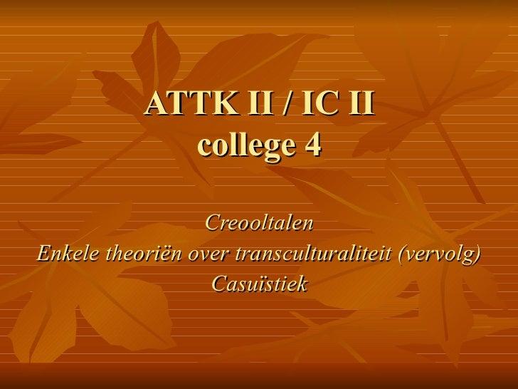 Coll4.taal cultuurverschillen
