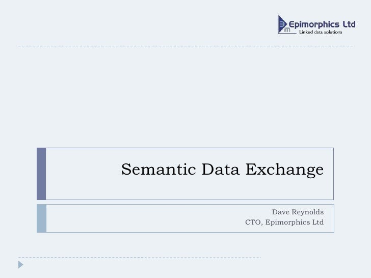 Semantic Data Exchange