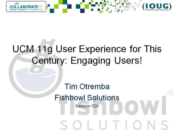 Collaborate 2011 user experience for this century-slideshare
