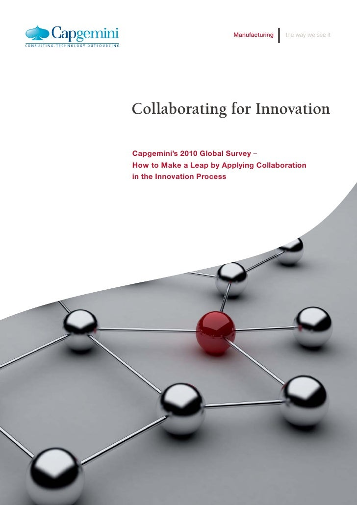 Collaborating for innovation 2010 study