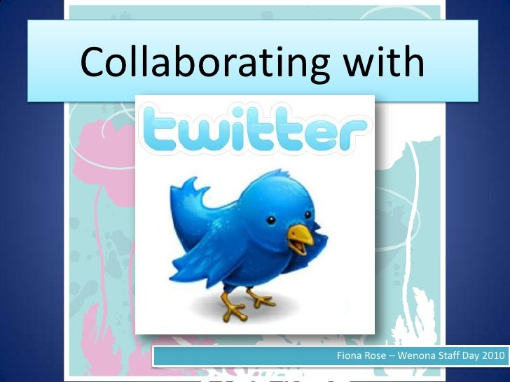 Collaborating With Twitter