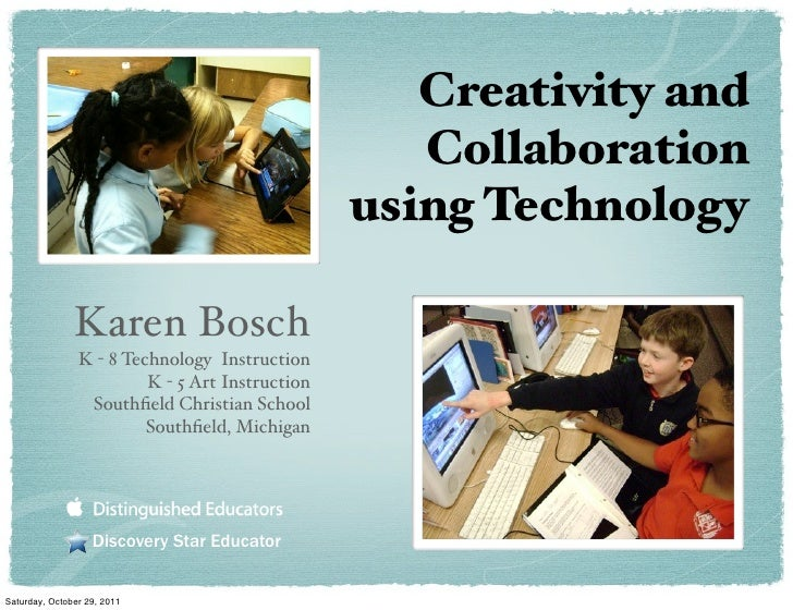 Creativity and                                                    Collaboration                                           ...