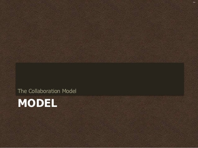 SMThe Collaboration ModelMODEL