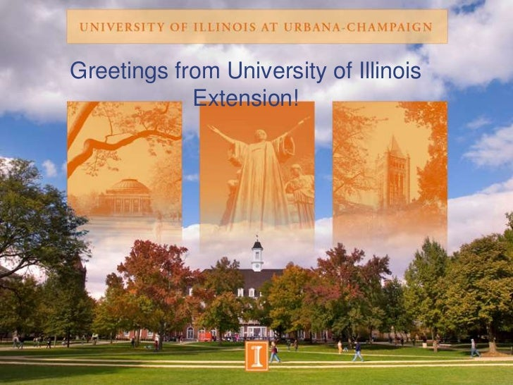 Greetings from University of Illinois Extension!<br />