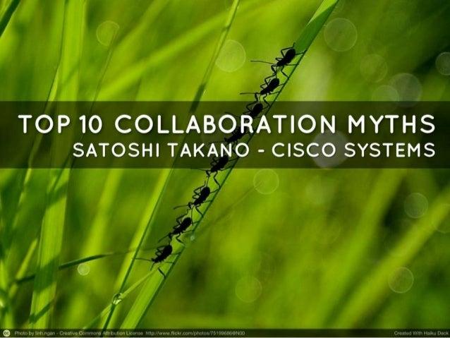 Collaboration Myths Top 10