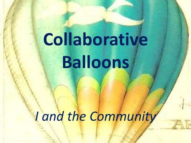 Collaborative Balloons!