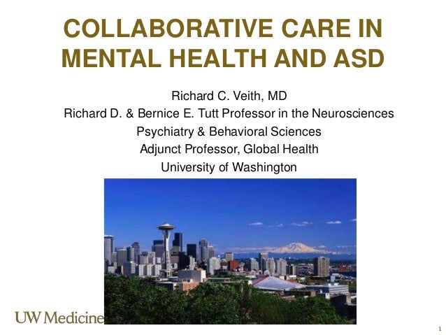 Richard C. Veith, MD Richard D. & Bernice E. Tutt Professor in the Neurosciences Psychiatry & Behavioral Sciences Adjunct ...