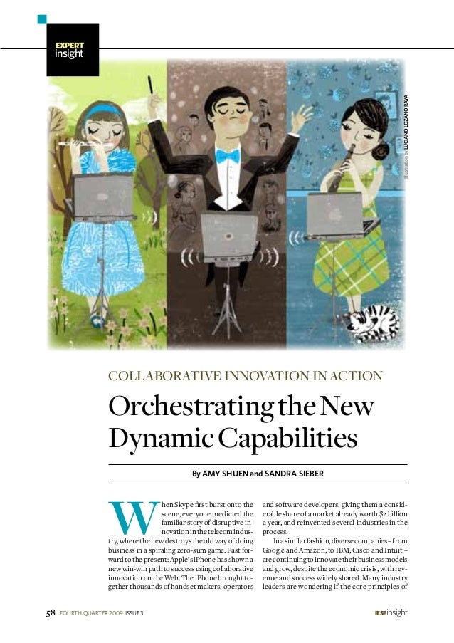 Orchestrating the New Dynamic Capabilities:  Collaborative innovation in Action
