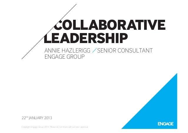 Collaborative Leadership at HR Directors Business Summit