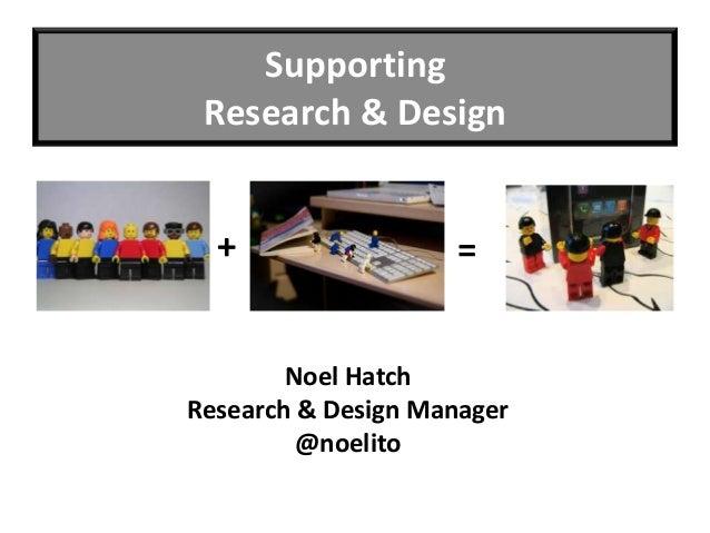 Collaborative Research & Design