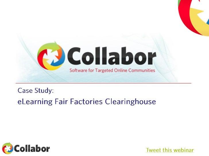Collabor global webinar series #2   e learning
