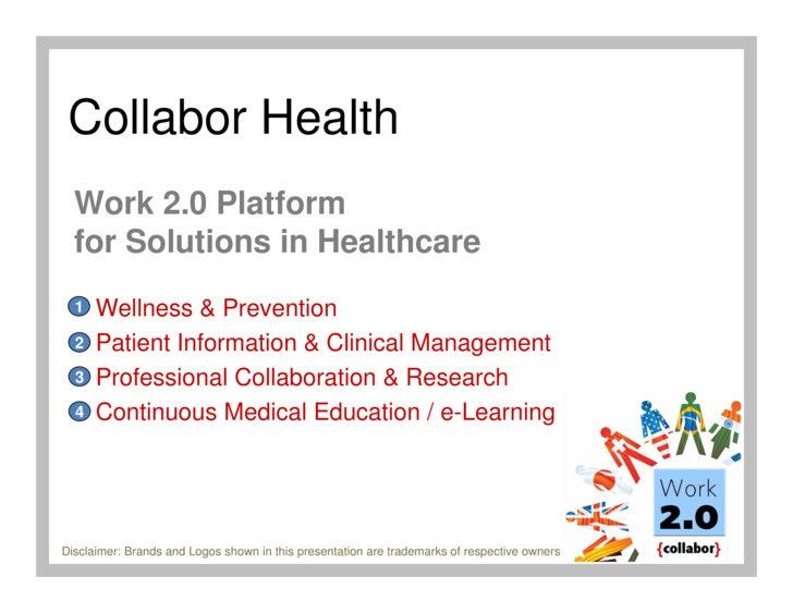 Collabor Health Work 2.0