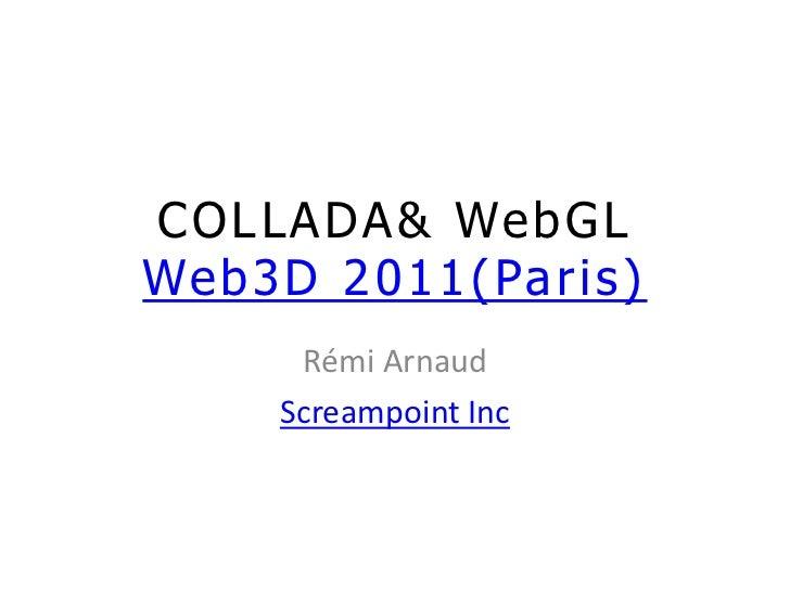 COLLADA & WebGL