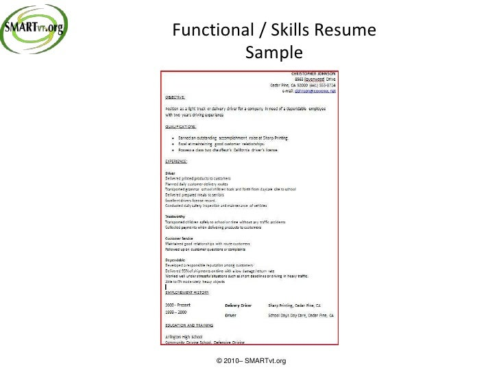 collateral development resume       chronological resume