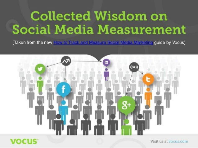 Collected Wisdom on Social Media Measurement