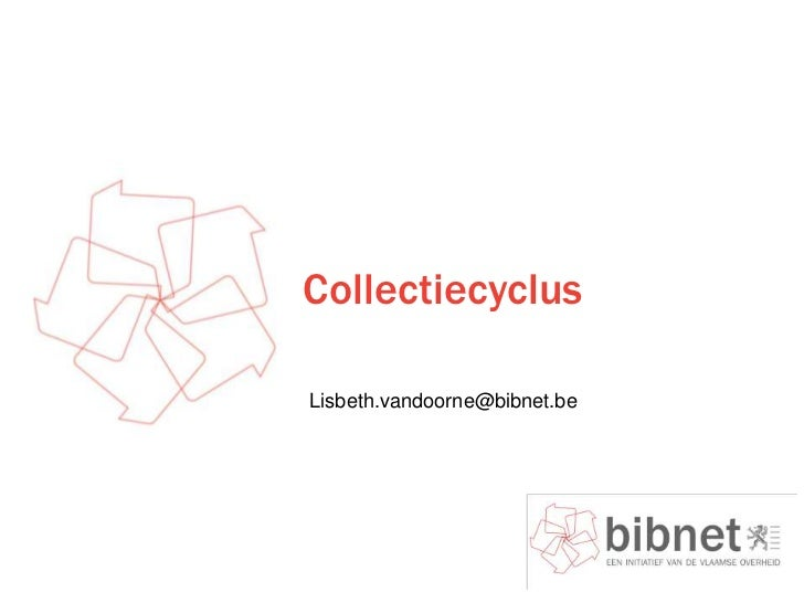 Collectiecyclus ppt